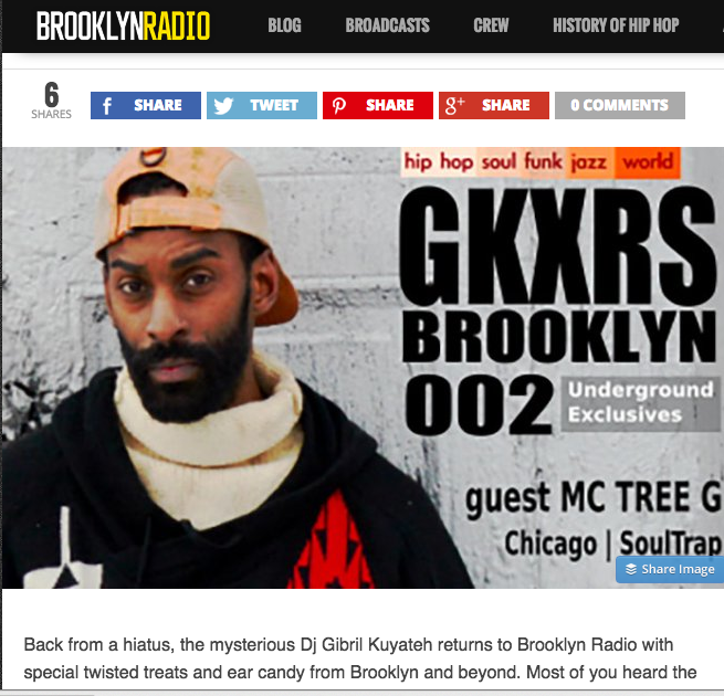 Interview w/ MC Tree for Brooklyn Radio | Chicago | GKXRS #002