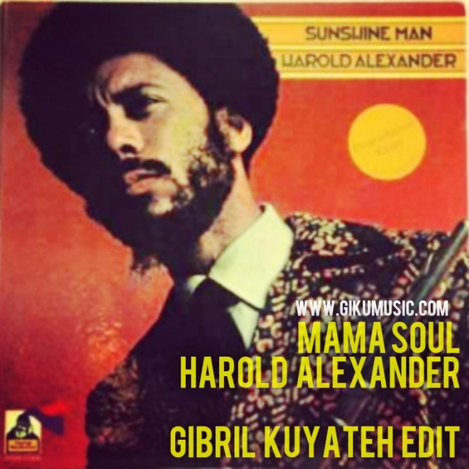 'Mama Soul' – Harold Alexander Gibril Kuyateh Edit Teaser (April 17th) FUSICOLOGY | BROOKLYN RADIO