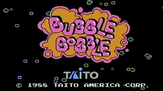 Bubble Bobble Flashback + Links 2 Play Vintage NES Game Online